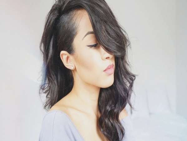 95 Bold Shaved Hairstyles For Women Inside Half Shaved Long Hairstyles (View 9 of 25)
