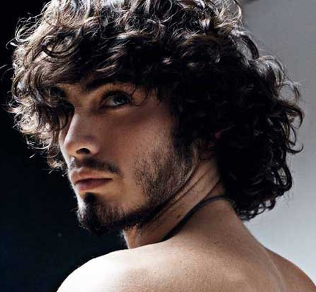 96 Curly Hairstyle & Haircuts – Modern Men's Guide For Hairstyles For Men With Long Curly Hair (View 14 of 25)
