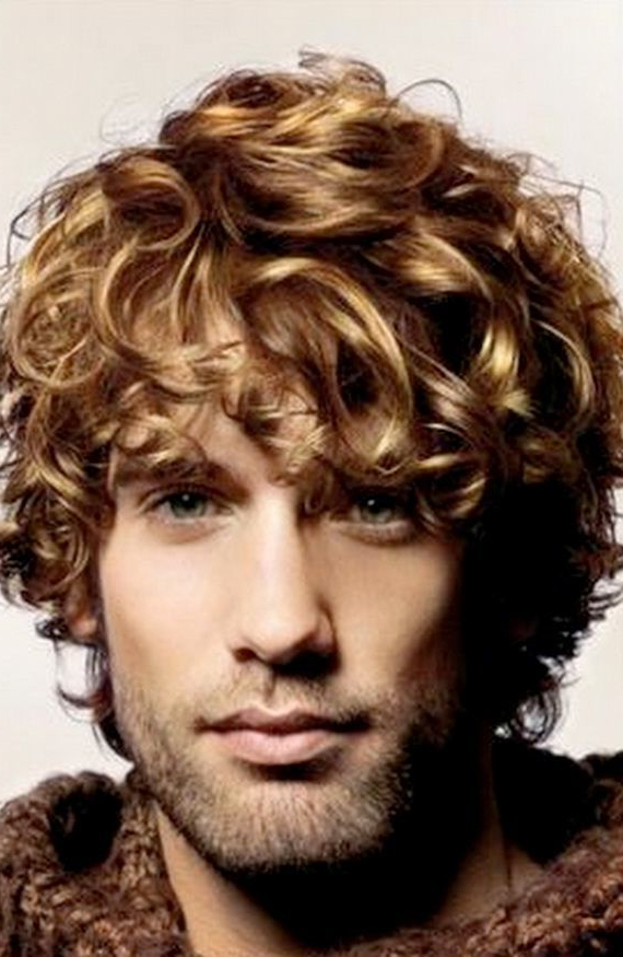 96 Curly Hairstyle & Haircuts – Modern Men's Guide Intended For Wavy Curly Long Hairstyles (View 14 of 25)