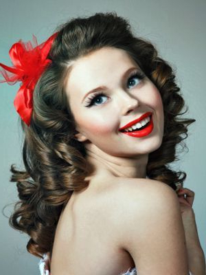 A 50's | Vintage Hairstyles | Long Hair Styles, 50S Hairstyles Throughout 50S Long Hairstyles (View 8 of 25)