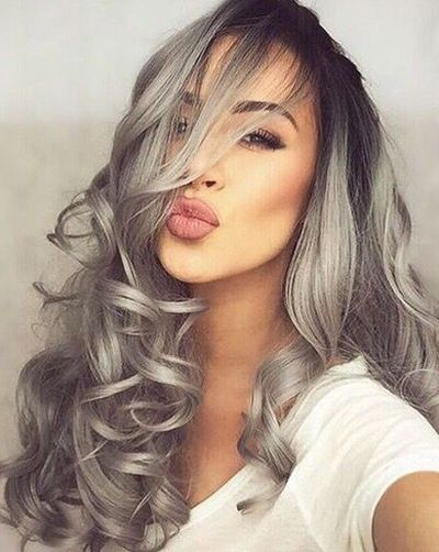A Millennial's Guide To Gray Hair Dye – Hairstyles & Haircuts For Intended For Long Hairstyles For Gray Hair (View 9 of 25)