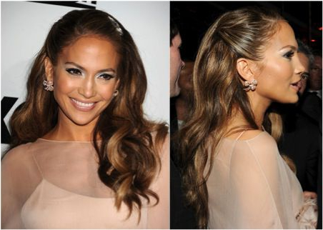 A Slideshow Of Pinned Back Hairstyles For Prom With Long Hairstyles Pinned Back (View 4 of 25)