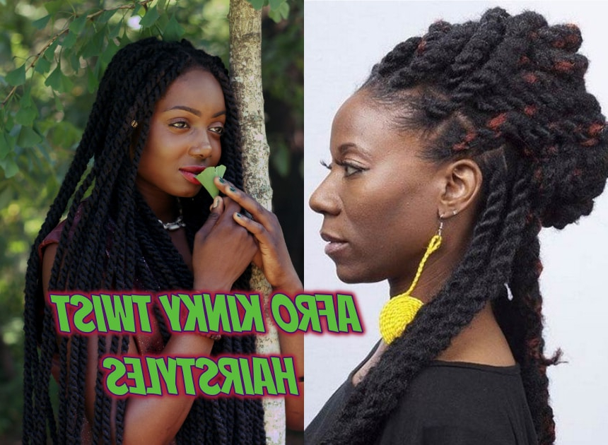Afro Kinky Twist Hairstyles You Will Adore ? Legit (View 21 of 25)