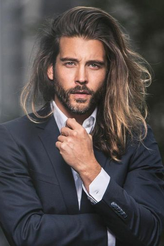 All You'll Want To Know About Long Hairstyles For Men | Lovehairstyles Throughout Long Hairstyles Side Part (View 24 of 25)