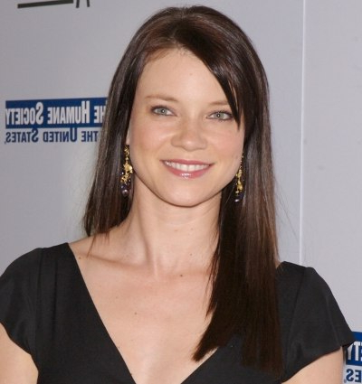 Amy Smart Hair Styles | Smooth Straight Hair And A Jagged Layered With Long Jagged Hairstyles (View 17 of 25)