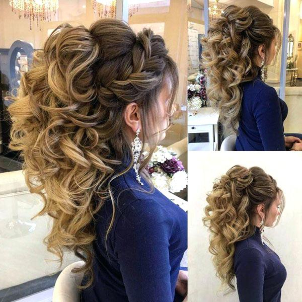 And Prom Hairstyles Curly Prom Hairstyles For Long Hair Prom Pertaining To Curly Long Hairstyles For Prom (View 16 of 25)