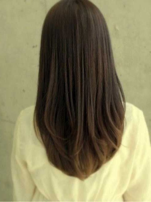 Angled Hairstyle Back View Look | Hair Cuts I Love For Long Hair In Long Hairstyles Back View (View 6 of 25)