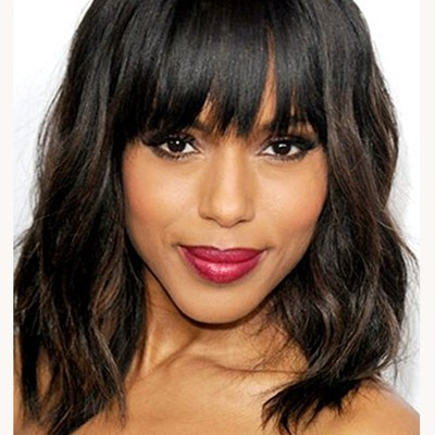 Are You Parting Your Hair The Wrong Way? | Allure With Side Swept Curls And Draped Bangs Hairstyles (View 17 of 25)