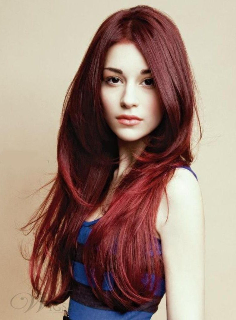 Featured Photo of Red Long Hairstyles