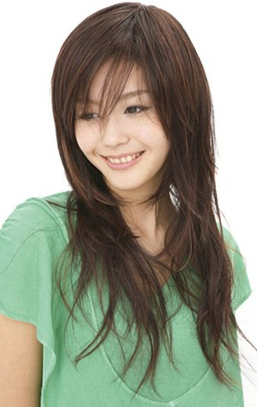 Asian Women Long Hairstyle With Layers Within Long Hairstyles For Asian Women (View 9 of 25)