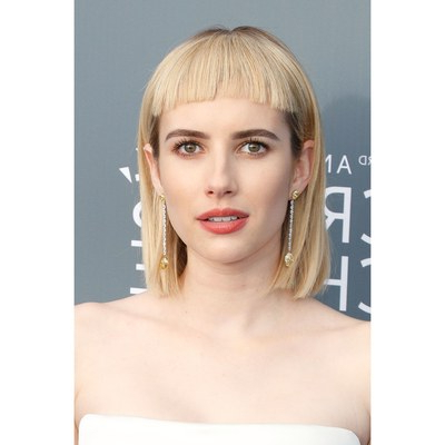 Baby Bangs Are Trending For 2018 – Short Bangs Haircut | Allure Inside Short Fringe Long Hairstyles (View 6 of 25)