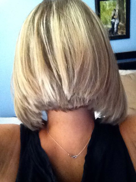 Back View Of Short Haircuts Intended For Short In Back Long In Front Hairstyles (View 12 of 25)
