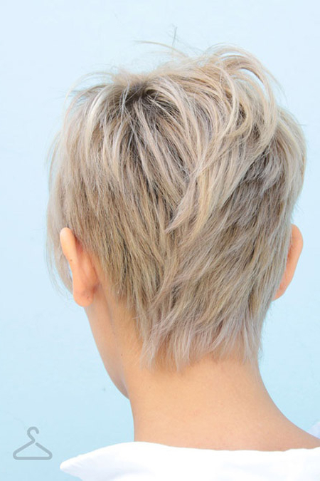 Back View Of Short Haircuts Throughout Long Hairstyles Layers Back View (View 25 of 25)