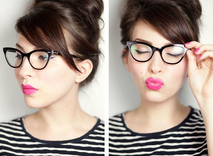 Bangs And Glasses Hairstyle Ideas – Hair World Magazine Within Long Hairstyles For Girls With Glasses (View 14 of 25)