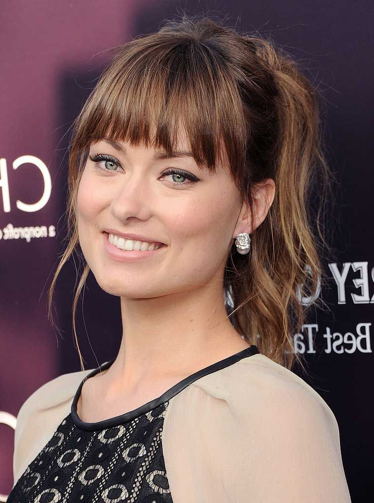 Bangs For Oval Faces – Google Search | Hair | Olivia Wilde Hair For Long Haircuts With Bangs For Oval Faces (View 3 of 25)