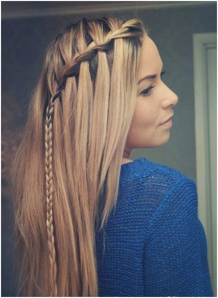 Be A Stunnerwearing Your Hair Down With Braids | Styles Weekly Pertaining To Long Hairstyles Down Straight (View 11 of 25)