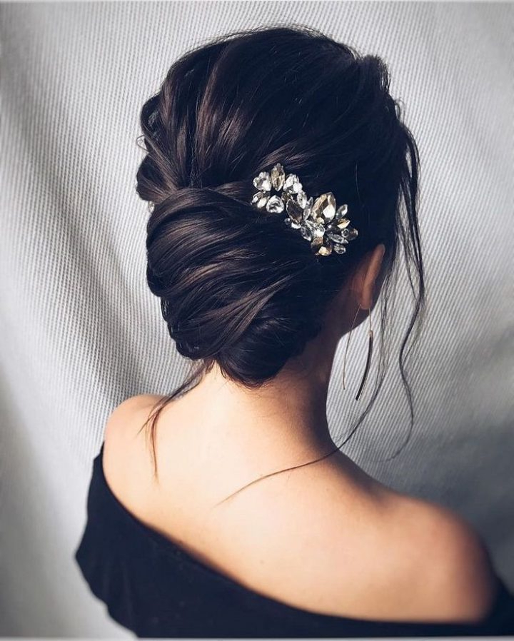 Beautiful Loose Braided Updo Hairstyles, Upstyles, Elegant Updo With Regard To Long Hairstyles Upstyles (View 11 of 25)