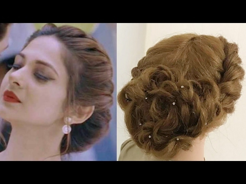Beautiful Twist Hairstyle : Easy Party Hairstyles – Youtube Intended For Long Hairstyles For A Party (View 16 of 25)