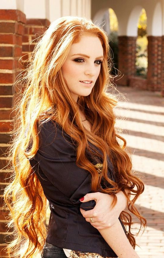 Beauty And Makeup Tips And Tricks For Redheads | Redhead | Long Hair Pertaining To Long Hairstyles Redheads (View 3 of 25)