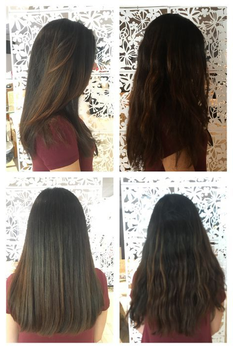 Below The Shoulder - One Length Haircut No Layers | Hair | Long Hair pertaining to Long Hairstyles No Layers