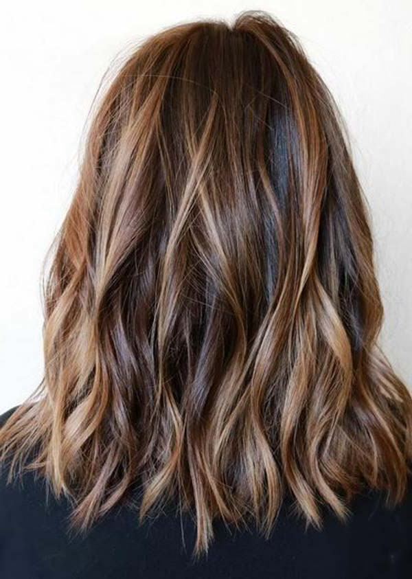 Best 150 Inspiration For Shoulder Length Hair – Hair Regarding Light Layers Hairstyles Enhanced By Color (View 24 of 25)