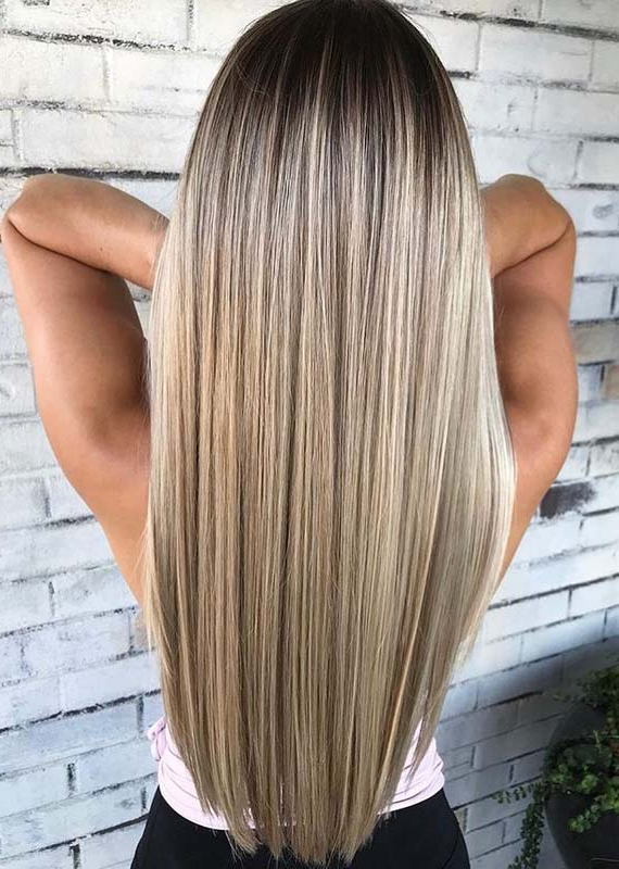 Best Balayage Ombre Hair Colors For Long Hairstyles In 2018 | Absurd With Ombre Long Hairstyles (View 25 of 25)