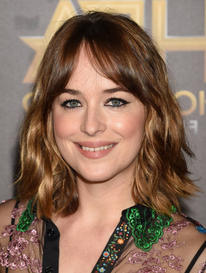 Best Bangs For Square Face 2019 – Beauty & Health Tips With Long Hairstyles For Square Faces With Bangs (View 17 of 25)