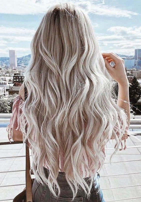 Best Blond Balayage Hair Colors For Long Hairstyles For 2019 Regarding Long Hairstyles Balayage (View 25 of 25)