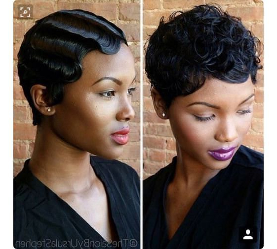 Best Hairstyle For Older Women With Thinning Hair | Finger Wave Within Flowing Finger Waves Prom Hairstyles (View 24 of 25)
