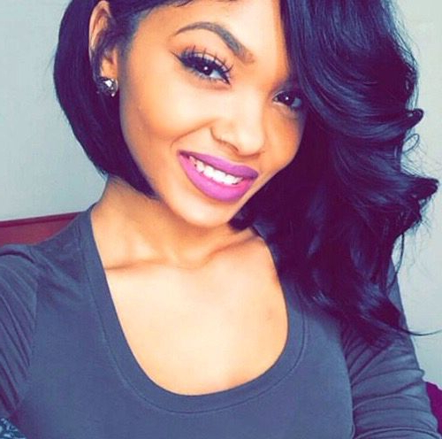 Best Hairstyles For Women: Slay! @lipstick Love – Black Hair Throughout Long Bob Hairstyles With Bangs Weave (View 18 of 25)