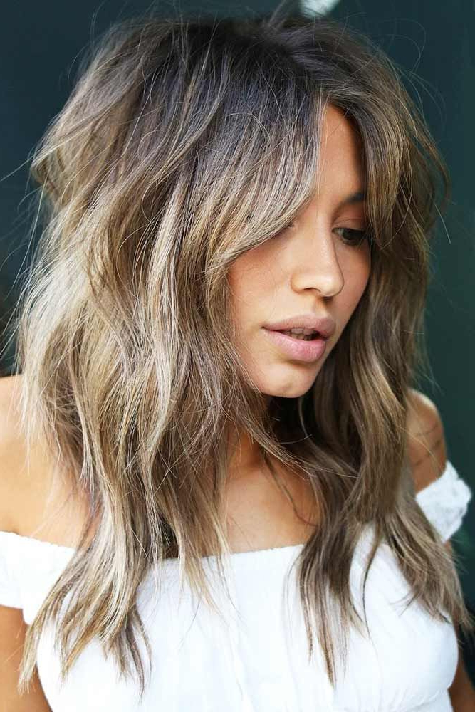 Best Hairstyles & Haircuts For Women In 2017 / 2018 : Long Choppy Intended For Choppy Long Haircuts (View 24 of 25)