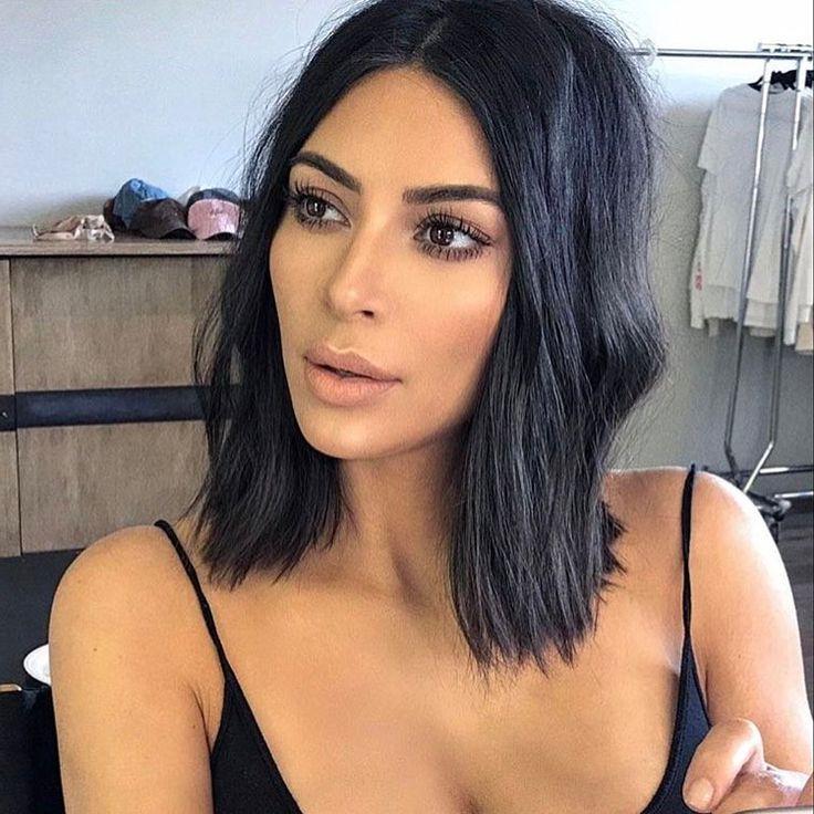 Best Human Hair Lace Wigs » Kim Kardashian Bob Wig | Human Hair Lace Pertaining To Long Bob Hairstyles Kim Kardashian (View 25 of 25)