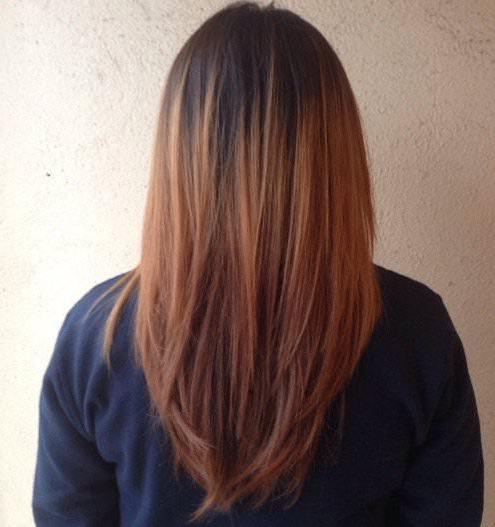 Best Ideas For V Cut And U Cut Hairstyles With Long Hairstyles V Cut (View 14 of 25)