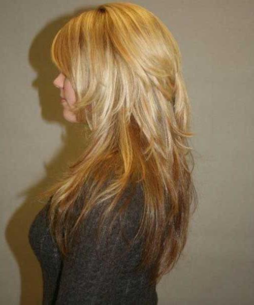 Best Long Choppy Layers Hairstyle | Haircut Styles | Long Hair within Long Choppy Layered Hairstyles