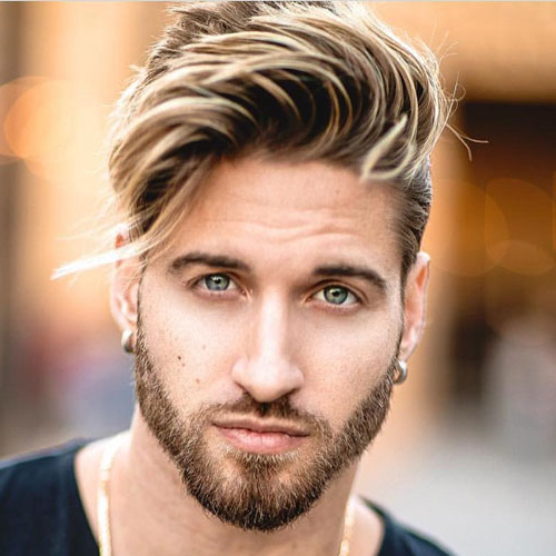 Best Men's Haircuts For Your Face Shape 2019 | Men's Hairstyles + Throughout Long Hairstyles For Long Face (View 18 of 25)