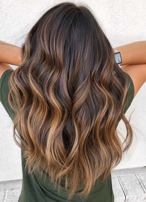 Best Of Balayage Caramel Dreamy Long Hairstyles For Fall Season 2018 Throughout Long Hairstyles Balayage (View 22 of 25)