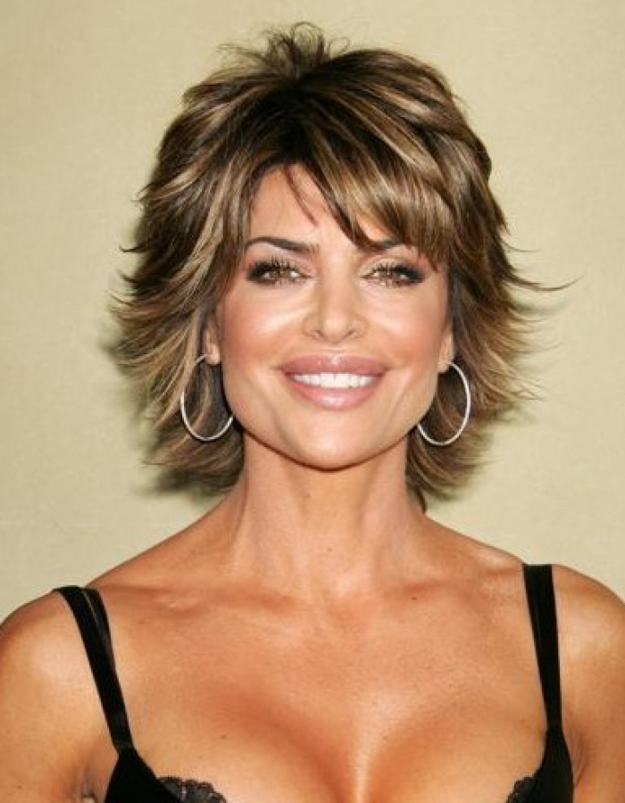 Best Short Hairstyles For Women Over 40 – Women Hairstyles Inside Long Hairstyles With Short Layers On Top (View 15 of 25)