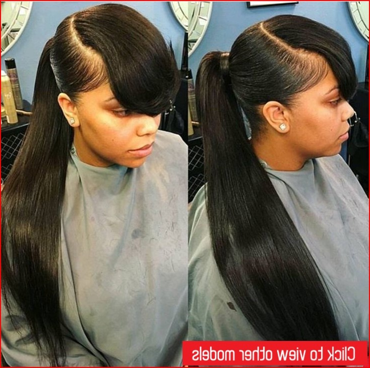 Best Stylish Long Ponytail Hairstyles » Best Short Hairstyles Throughout Long Hairstyles In A Ponytail (View 16 of 25)
