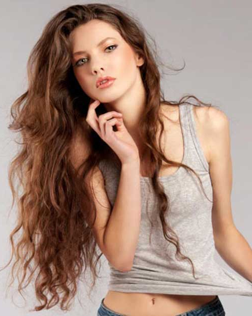 Best Wavy Hairstyles For Women » Best And Easy Natural Hairstyles Within Long Hairstyles Naturally Wavy Hair (View 9 of 25)