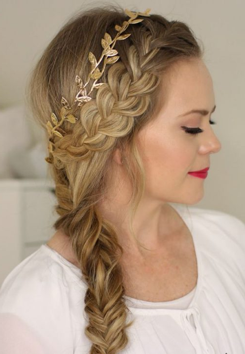 Best Wedding Hairstyles For Long Hair | Wedding Hairstyles Pertaining To Side Bun Prom Hairstyles With Jewelled Barrettes (View 24 of 25)