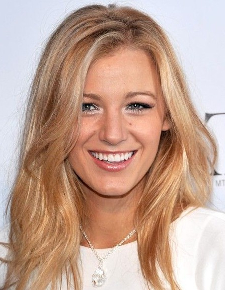 Blake Lively's Long Hairstyles: Blonde Straight Hair – Popular Haircuts With Regard To Blonde Long Haircuts (View 10 of 25)