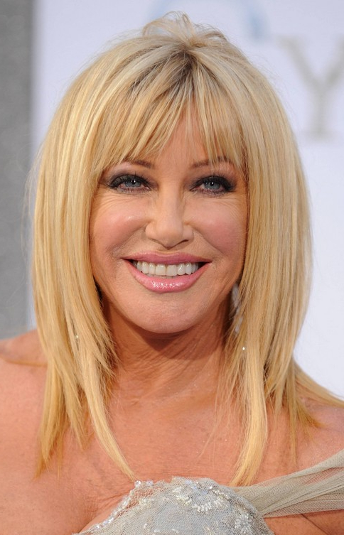 Blonde Haircut For Women Over 60 – Suzanne Somers Hairstyles In Long Hairstyles For Women Over (View 21 of 25)