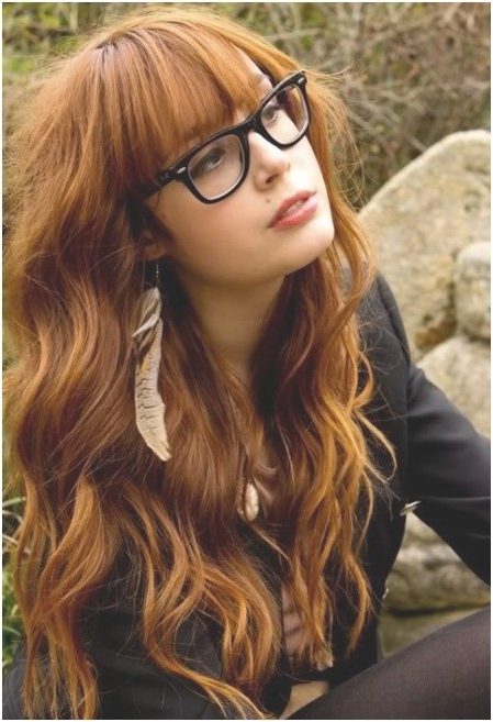 Blonde Long Wavy Hairstyles With Bangs: Cute Haircuts – Popular Haircuts Intended For Cute Long Haircuts With Bangs (View 11 of 25)