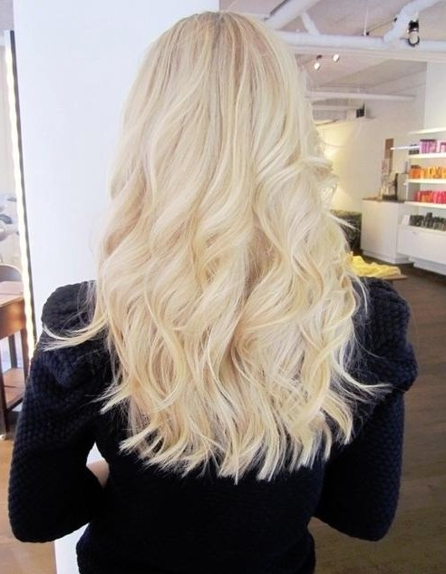 Blunt Hairstyles: Long Wavy Hair – Popular Haircuts Within Blunt Long Hairstyles (View 5 of 25)