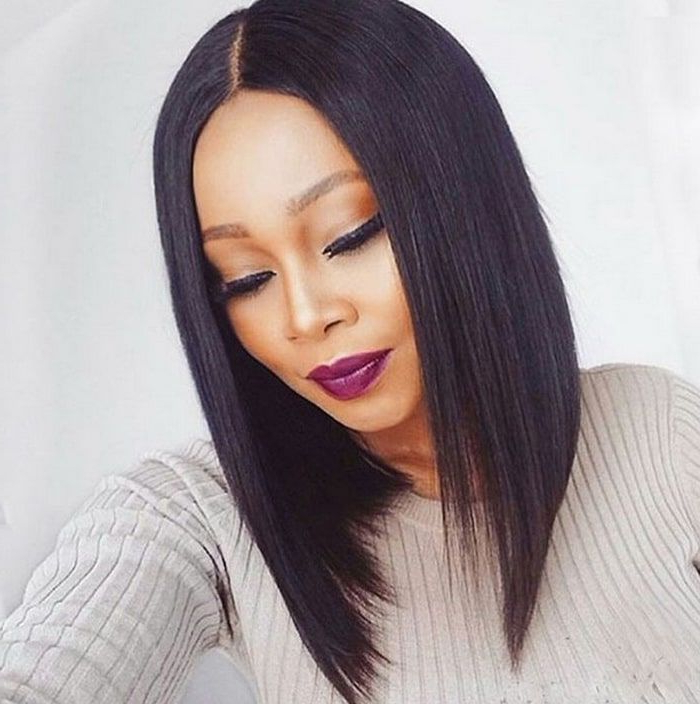 Bob Haircuts For Black Women, Best Short African American Bob Hairstyles Intended For Long Haircuts For Black Women (View 10 of 25)