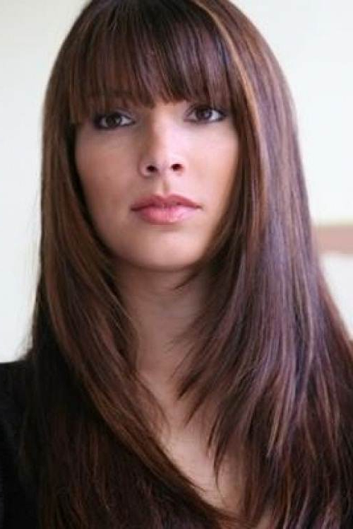 Bob Haircuts With Fringe For Women | Hairstylo Pertaining To Long Haircuts With Fringe (View 14 of 25)