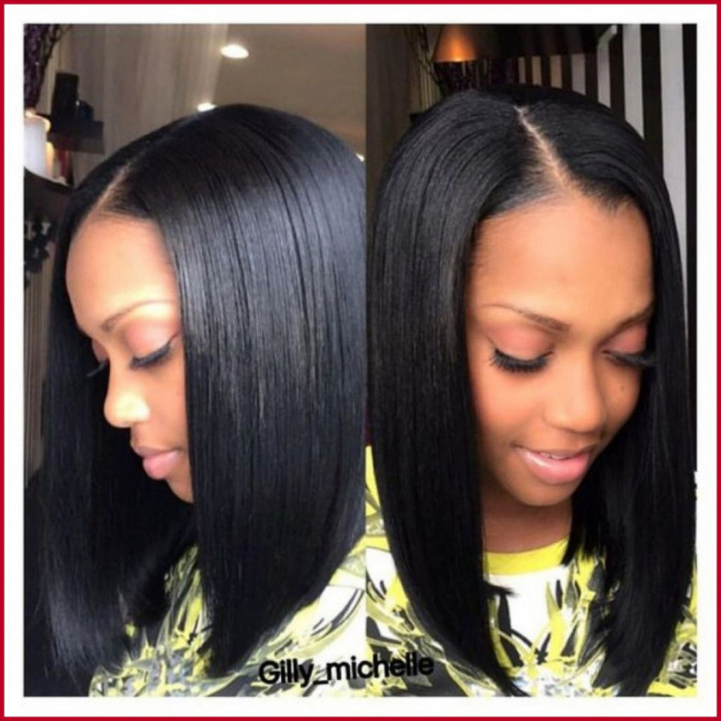 Bob Hairstyles With Weave (69+ Images In Collection) Page 2 Pertaining To Long Bob Hairstyles With Weave (View 19 of 25)