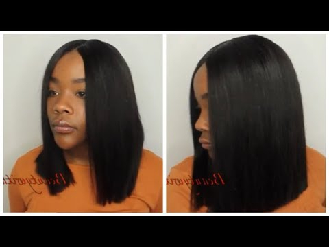 Bob Season| Cut & Style Quick Weave| Lumiere Hair| No Leaveout – Youtube Pertaining To Long Bob Quick Hairstyles (View 8 of 25)