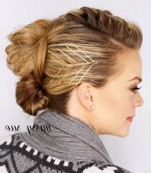 Bobby Pin Hairstyles: Unexpected Ways To Wear Bobby Pins In Long Hairstyles With Bobby Pins (View 10 of 25)