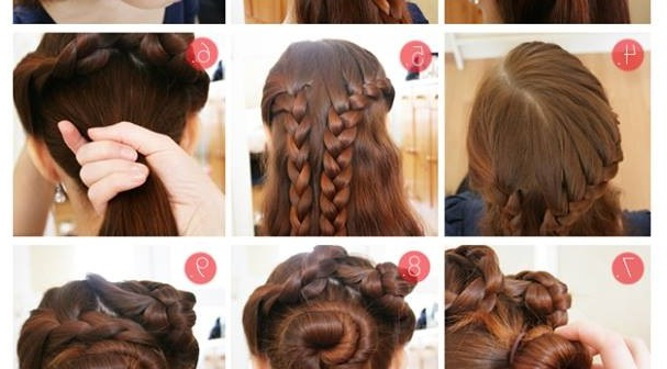 Braided Hairstyle For Thick Hair – Alldaychic In Braids Hairstyles For Long Thick Hair (View 2 of 25)